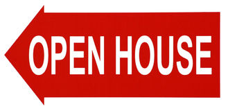 Open House. Stock Photos