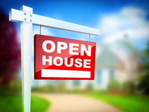 Open House Royalty Free Stock Photos