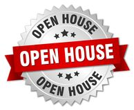 Open house badge Stock Photography