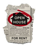 Open House Royalty Free Stock Photo