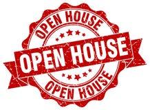 Open house seal Stock Photo