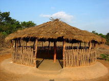 Open Indian Hut Royalty Free Stock Image