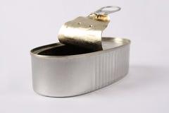 Open ingeblikt voedsel Stock Foto's