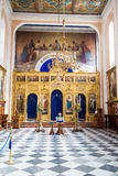 Open Interior of Old Dubrovnik Church Royalty Free Stock Photo