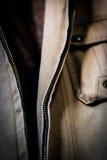 Open Jacket Zipper Pull Detai Royalty Free Stock Photography