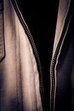 Open Jacket Zipper Pull Detail Royalty Free Stock Photos