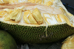 Open jackfruit Royalty Free Stock Photography