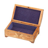 Open jewelry box Royalty Free Stock Image