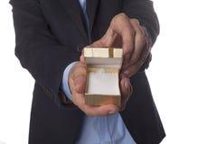 Open Jewelry Box Stock Photography