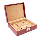 Open jewelry box Stock Images