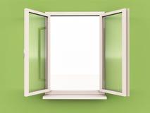 Open kans vector illustratie