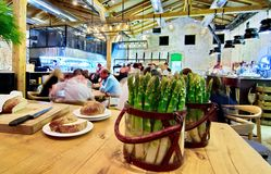 Open Kichen restaurant Stock Photography