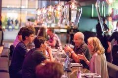 Open Kichen restaurant Stock Images