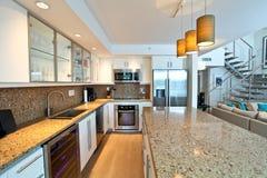 Open Kitchen stock image