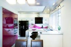 Open kitchen Royalty Free Stock Photo