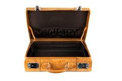 Open koffer Royalty-vrije Stock Foto