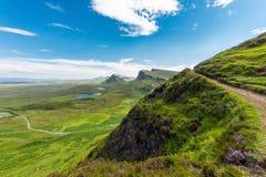 Open landscape on the Isle of Skye Royalty Free Stock Photo