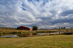 Open landschap stock foto