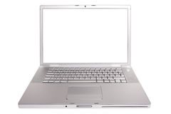 Open laptop. Royalty Free Stock Images