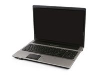 Open laptop computer Royalty Free Stock Photography