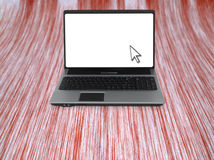 Open laptop computer Royalty Free Stock Photo