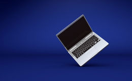 Open laptop computer Royalty Free Stock Images