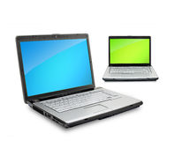Open laptops Royalty Free Stock Photography