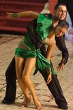 Open Latin Dance Contest, 19 - 35 years Royalty Free Stock Images
