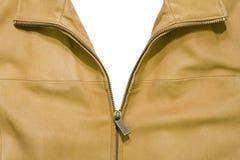Open leather jacket Stock Photo