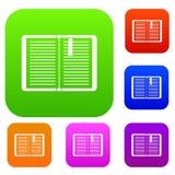 Open leerprogramma met referentie vastgestelde inzameling Stock Fotografie