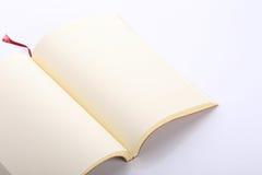 Open lege document pagina Royalty-vrije Stock Foto