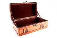 Open lege koffer Royalty-vrije Stock Foto's
