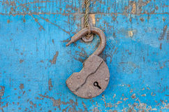 Open lock Royalty Free Stock Image