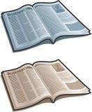 Open Magazine Royalty Free Stock Image
