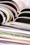 Open magazines Stock Image