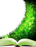 Open magic book Stock Images