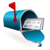 Mail and E-Mail Concept Royalty Free Stock Photo
