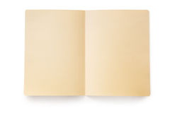Open Manila Folder (with Path) Royalty Free Stock Image