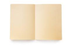 Open Manila Folder (with Path) Royalty Free Stock Image