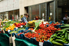 Open market in Dublin Royalty Free Stock Photo