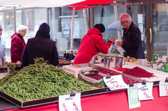 Open market in Tampere Finland Royalty Free Stock Photos