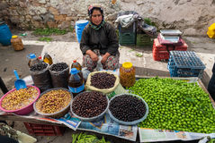 Open market in Turkey Royalty Free Stock Photo