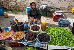 Open market in Turkey Royalty Free Stock Photo