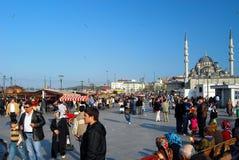 Open markt in Istanboel - Turkije Royalty-vrije Stock Foto's