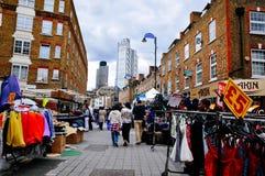 Open markt in Londen Royalty-vrije Stock Afbeeldingen