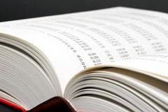 Open math book Stock Images