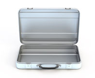 Open metal case Royalty Free Stock Image