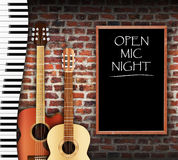 Open Mic Night Royalty Free Stock Image