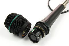 Open microphone Stock Photography
