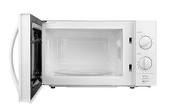 Open Microwave Oven Stock Photo - Image: 75347130